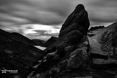 Boulder (Paul T McDowell Photography) Tags: camera people weather digital season lens photography spring day image time cloudy unitedkingdom year places northernireland technique mournemountains countydown longexpsoure 2016 canoneos5dmarkii canonef35mmf2isusm paultmcdowell