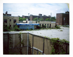 (.tom troutman.) Tags: ny abandoned hospital polaroid fuji land instant fp 250 100c pullandpeel