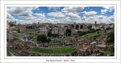 The Roman Forum (RTA Photography) Tags: rome theromanforum ancientrome history italy pano 11shot rtaphotography