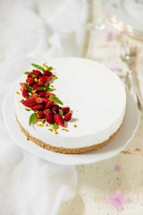 Cheesecake alle fragoline e pistacchi (Laura Adani) Tags: summer stilllife food cake vertical cheese pie dessert spring raw sweet mint cheesecake gourmet celebration indoors biscuit homemade pistachio ricotta foodanddrink herb wildstrawberry prepare