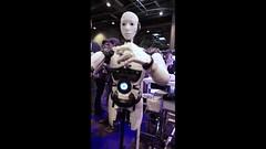 InMoov, le robot danseur (Salon Viva Technology, Paris) (dalbera) Tags: paris france robot innovation dalbera vivatechnology inmoov