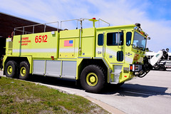 Chicago Fire Department 6-5-12 (nick123n) Tags: chicago fire department rig truck apparatus arff ord kord ohare airport lime green