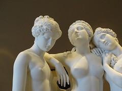 Paris '16 (faun070) Tags: threegraces jamespradier marble greekmythology louvre louvremuseumparis