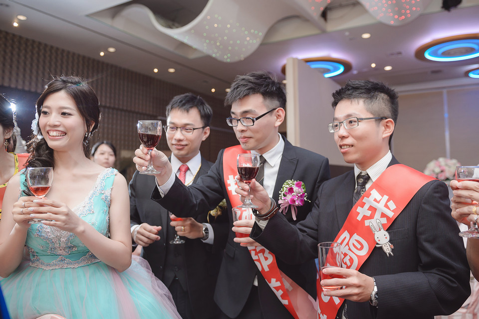 婚禮攝影-台南情定婚宴城堡永康館-80