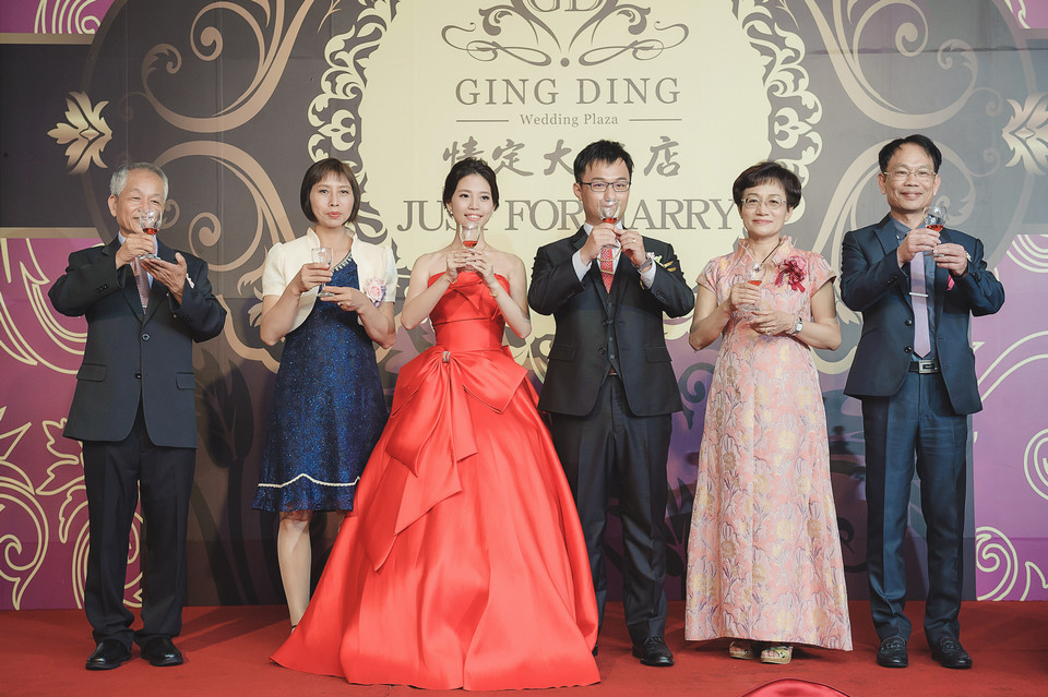 婚禮攝影-台南情定婚宴城堡永康館-49