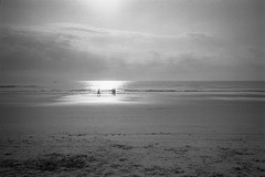 Walk in the Light (Tony__K) Tags: leica mp trix 400 kodak hc110 hc110b jacksonville jax jaxbeach jacksonvillebeach blackandwhite bw ishootfilm iso400