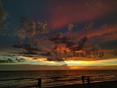 Gulf of Mexico (ashabot) Tags: sunset summer sky orange gulfofmexico nature colors beautiful evening florida gulfcoast summerevenings skyporn skyandcloudjunkies