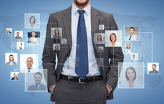 close up of businessman over icons with contacts (gar_xxx1) Tags: pictures blue friends people man male businessman closeup work happy person corporate photo team community media icons head background group hunting young coworkers social icon hiring professional communication business international human contacts colleagues network concept manager job bodypart partnership connection multimedia clients partners cooperation employees customers teamwork businesspeople employer entrepreneur