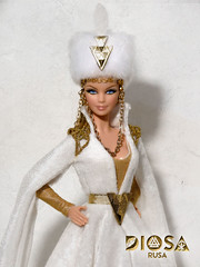 Moskocha. Diosa Rusa (Russian Goddess) (davidbocci.es/refugiorosa) Tags: moskocha diosa rusa russian goddess barbie mattel fashion doll mueca refugio rosa david bocci ooak