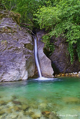 La cascata del monte Altissimo (Darea62) Tags: waterfall altissimo apuans tree longexposure madonna conca serra versilia stream nature rock stones green