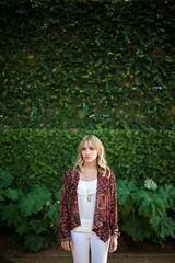 April (Caleb Kerr) Tags: portrait green girl beauty fashion austin vines soft ivy naturallight jewelry 50mm14 blonde southcongress shallowdepthoffield 5dmk2
