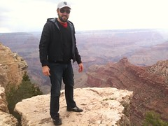 ayer en El Gran Cañón del Colorado