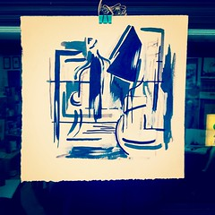 The Nightstand II (andrewrust) Tags: abstract art ink studio drawing gesso penandink nightstand