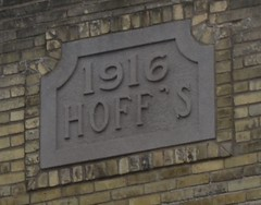 Hoff's building 1916 - Mount Horeb, WI (turn off your computer and go outside) Tags: building brick wisconsin downtown mt mount wi 1916 horeb hoffs