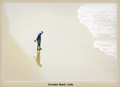 Fisherman from Kovalam in Kerala, India. (bent.christiansen) Tags: trip travel sea india beach nature fisherman nikon fishermen kerala indians trivandrum kovalam kovalambeach nikond5000 blinkagain