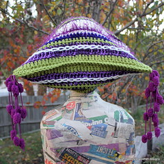 Fun Freeform Hats (laughingpurplegoldfish) Tags: hat fun crochet freeform