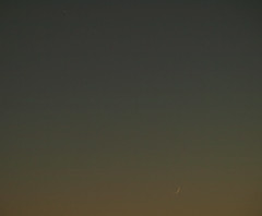 Moon and Jupiter 11-05-13 (James Lennie) Tags: sunset moon dusk olympus astro luna devon astrophotography astronomy nightsky jupiter dslr lunar solarsystem moonshot northdevon lunarphase lunarphotography e410