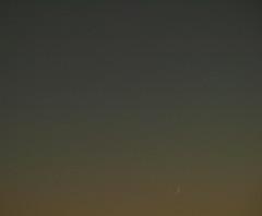 Moon and Jupiter 11-05-13 (James Lennie) Tags: sunset moon dusk olympus astro luna devon astrophotography astronomy nightsky jupiter dslr lunar solarsystem moonshot northdevon lunarphase lunarphotography e410
