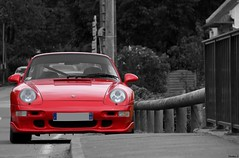 993 Turbo (Nico_bzh29) Tags: red rouge cte course turbo porsche hillclimb 993 landivisiau 2013 worldcars loceguiner