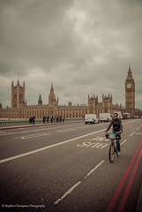 Take the Bike (Stephen Champness) Tags: city bridge people building westminster bike nikon flickr parliament bigben embankment nikond3200 d3200 nikon1855mm stephenchampness