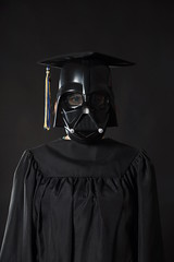 Day 2298 (evaxebra) Tags: black graduation darth 365 vader gown wh 365days evaxebra