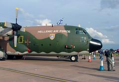 752 Lockheed C-130H Hercules, Hellenic Air Force, RAF Fairford 14 July 2007 (Kev Slade) Tags: lockheed hercules c130 raffairford hellenicairforce riat2007 egva