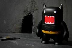 Bat-Domo (Wizard of X) Tags: comics toy dc blind box designer nolan vinyl domo figure batman collectible figurine bale rises tdk thedarkknight tdkr