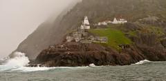 Fort Amherst (Brittany J Hayes) Tags: cloud cold rain fog newfoundland site nikon ship foggy scenic historic d3000