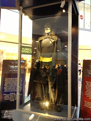 DC Superheroes exhibit in SM North