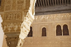 Pillar in the Palacios Nazaries