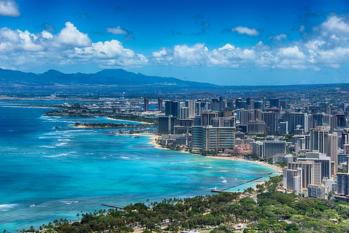 Waikiki Postcard by nosha, on Flickr
