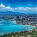 Waikiki Postcard (nosha) Tags: ocean sea beach beautiful beauty island hawaii waikiki oahu tropical honolulu hawaii2013
