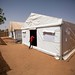 UNAMID builds a temporary clinic in Zam Zam