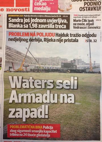 Waters i Armada (Sportske Novosti, 20.07.2013)
