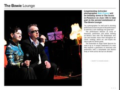 Artrocker issue 130 - The Bowie Lounge (Beki Takes Pictures) Tags: art magazine paul star bowie published cornwall theatre performance keith dancer liam sparrow elaine jolly juliet falmouth timo feature walsh davidbowie drayton wadsworth tearsheets claxton cowey artrocker beki kaltio thepoly thebowielounge issue130