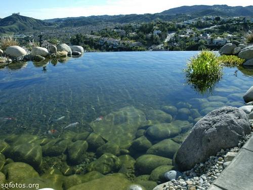 Paisagismo e jardinagem lago artificial
