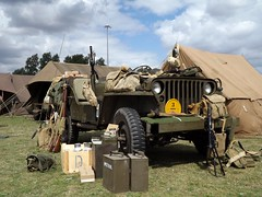 Operation Frying Pan - WWII Reenacting (David Shreeve) Tags: uk england army jeep 1940s ww2 reenactment cleethorpes nelincs ww2reenacting