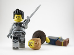 Game Over, Mr. Immortal. In the end, there can be only one / Fin del juego, Sr. Inmortal. Al final, solo puede quedar uno (G15*) Tags: lego highlander minifig immortal minifigure legominifig