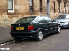 BMW E36 compact 316i GLASGOW 2013 (seifracing) Tags: rescue ford golf mercedes scotland focus force estate traffic britain glasgow taxi transport scottish police vehicles nhs bmw british trucks van polizei spotting policia strathclyde polizia ecosse seifracing