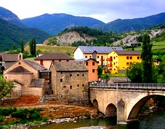 Fiscal Bridge Pyrenees #dailyshoot #Spain (Leshaines123) Tags: light summer colour contrast spain flickr pyrenees facebook fiscal twitter dailyshoot anawesomeshot dazzlingshot vividstriking leshaines dailyshoot2013