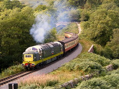 Class 55 (mike_j's photos) Tags: railway dps deltic northyorkshiremoors class55 alycidon dieselgala d9009 delticpreservation