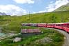 Berninabahn, 25.7.13 (ritsch48) Tags: switzerland weltkulturerbe rhb graubünden lagobianco bernianbahn rhaätischebahn
