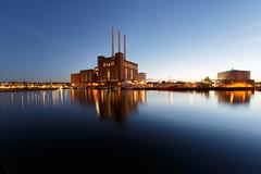 (John Peter Hansen) Tags: reflection copenhagen nightshot bluehour svanemllevrket bltime