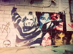 Kurt and Michael (bree.kclare) Tags: streetart michael kurt cobain mj jackson michaeljackson kurtcobain lomofilter thriller