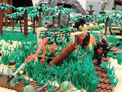 Brickinawa: Brickcon 2013 (Kaelas Munger) Tags: world two trooper japanese war theater tank pacific battle stuart ww2 marines 2013 brickarms