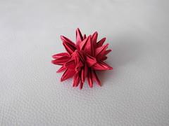 40 Point Sea Urchin - Toshiyuki Meguro (Origami by Robin) Tags: sea paper origami urchin folding seaurchin toshikazukawasaki