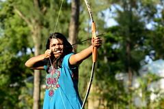 Archery (McGun) Tags: woman india power cove taj bow fishermans arrow archery chennai cognizant vivanta