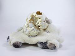 :o) (Kit Lane) Tags: wool fur beads sterling bobcat kitlane