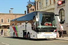 Weardale Travel, Stanhope YJ13GYA (busmanscotland) Tags: travel van insight stanhope hool vactions weardale tx16 alicron yj13gya