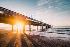 Boscombe Pier (Philipp Götze) Tags: england beach sunrise pier dorset bournemouth boscombe